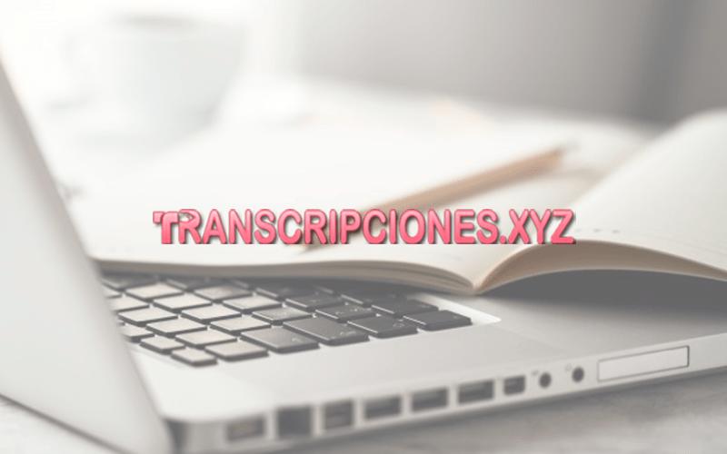 transcripciones.xyz